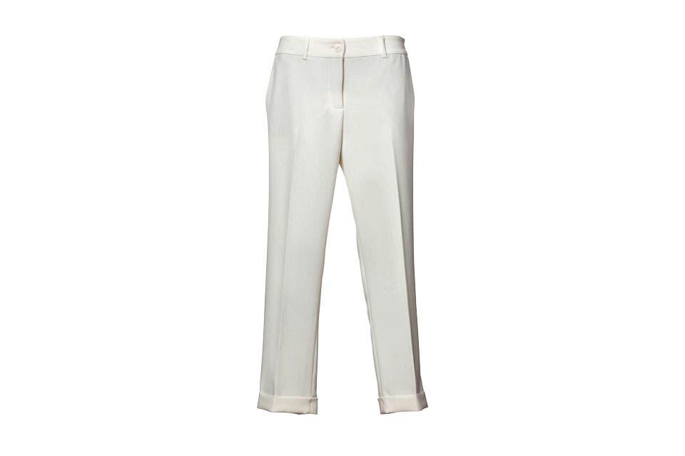 Pantalón pinzado Graciela Naum. Antes $2480. Ahora $1980.