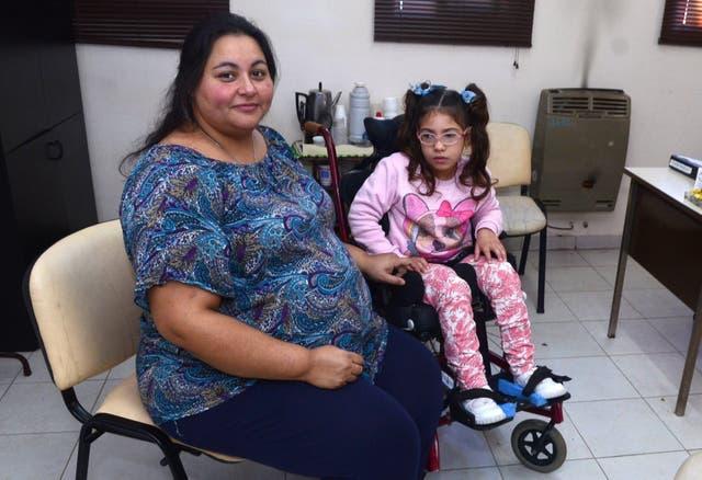 Vanesa Lanatta, madre adoptiva de Maitena (7)