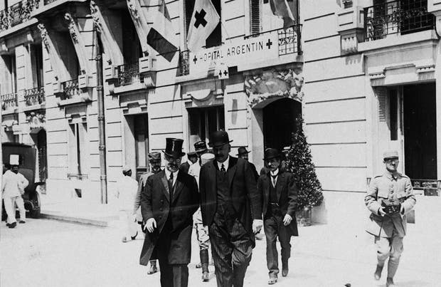 El 25 de mayo de 1917 se inauguró el Hopital Argentin