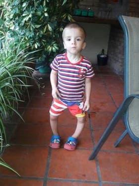 """Los padres de Gabi lo llevaron al traumatólogo cuando tenía aproximadamente un año y medio preocupados porque tenía las piernas """"muy chuecas"""""""