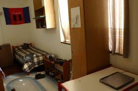 La bandera de Tigre identifica el dormitorio de un varón