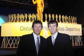 Curuchet y Pérez, los ganadores de la noche