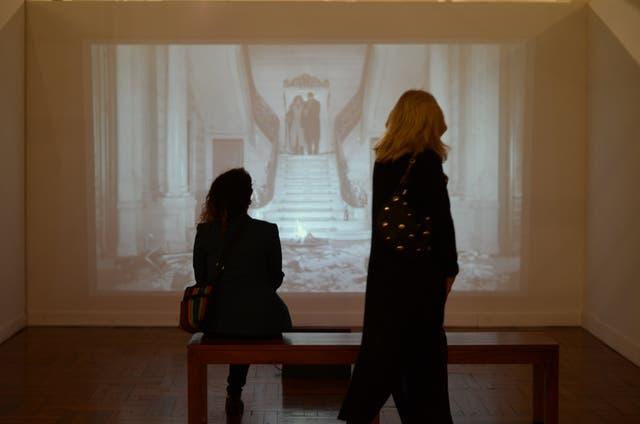 Alegoría, trabajo en video de Joaquín Aras