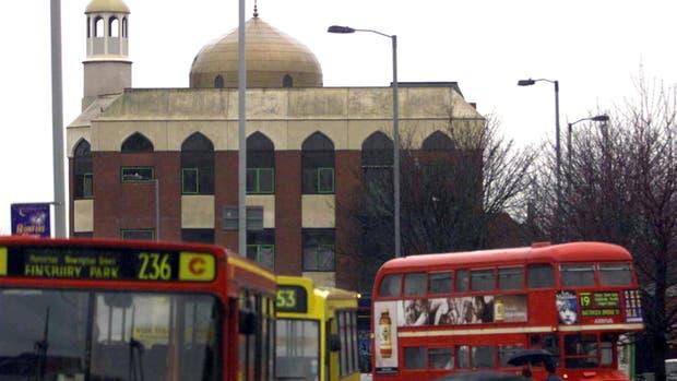 Una imagen de la mezquita de Finsbury Park, en Londres