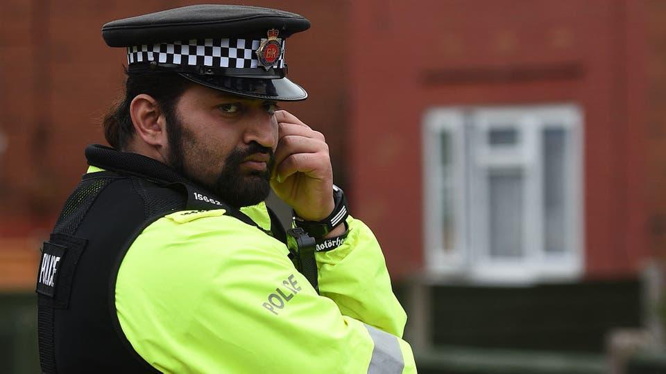 La idea de las autoridades es que las calles sean un lugar hostil para los terrosristas. Foto: AFP
