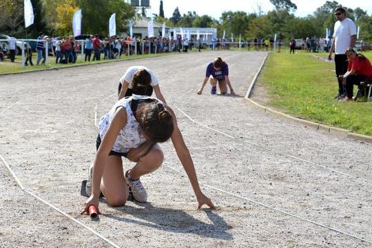 Imágenes de las Olimpíadas de la Cuenca del Salado.