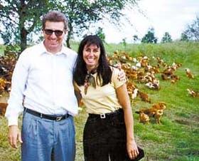 Los pollos orgánicos entusiasman a Pamela Schulzinger de Plat