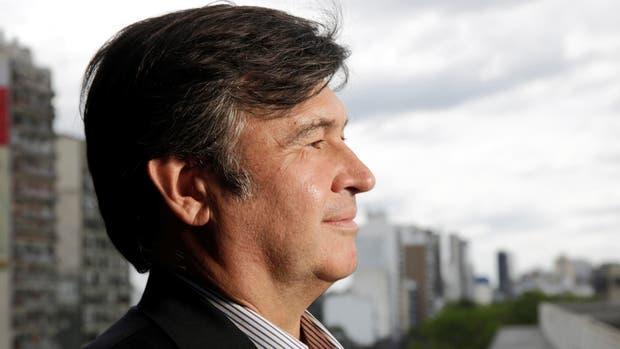 Daniel Pelegrina, presidente de la Rural; la entidad criticó la suba del inmobiliario rural