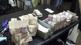 Los resultados de uno de los allanamientos a la financiera de Corrientes