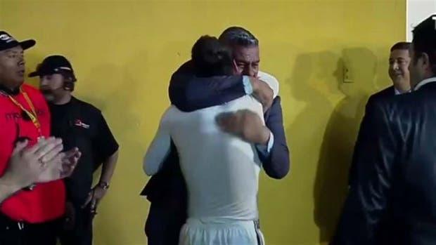 El abrazo, después del desahogo