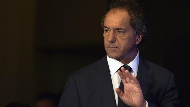 Scioli mantiene una campaña bajo perfil