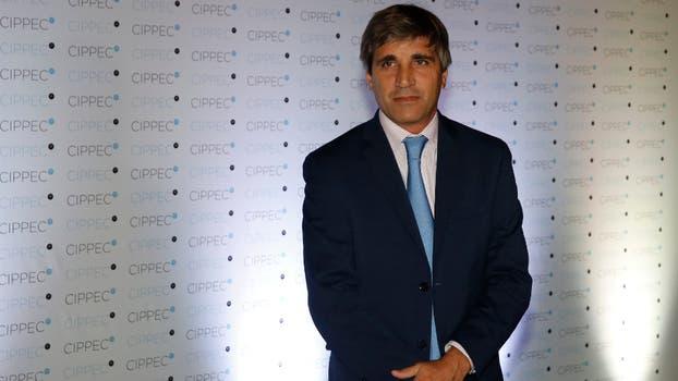 El ministro de Finanzas, Luis Andrés Caputo. Foto: Fabián Marelli