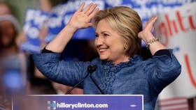 Hillary Clinton, la precandidata demócrata
