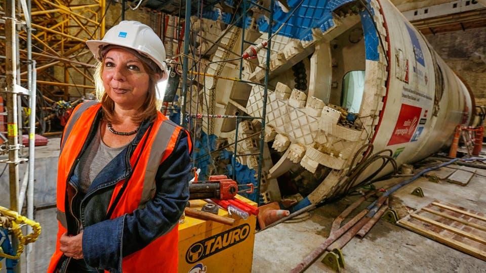Marcela Álvarez es la gerente del Sistema Riachuelo . Foto: LA NACION / Hernán Zenteno