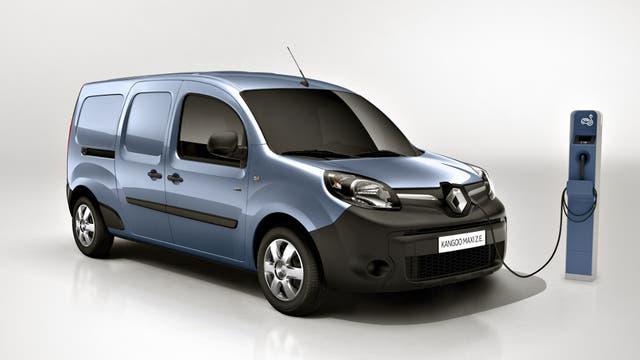 Kangoo ZE: el utilitario de Renault ya fue homologado en el país y llegaría a fines de este año.