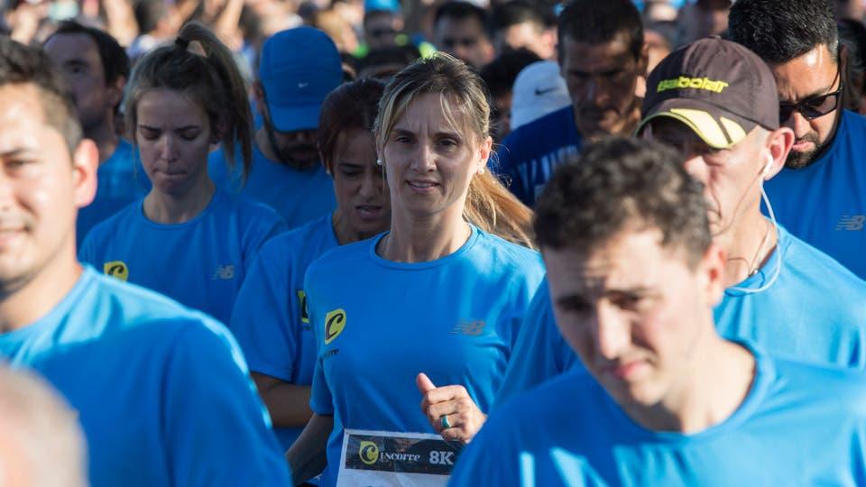 8K LNCorre: las mejores fotos de la fiesta del running. Foto: Santiago Filipuzzi