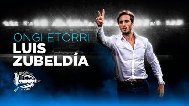 El argentino Luis Zubeldía dirigirá al Alavés la próxima temporada