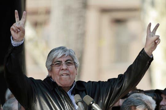 """Moyano le reclamó a la Presidenta que """"abandone esa soberbia abrumadora"""" y le pidió diálogo. Foto: EFE"""