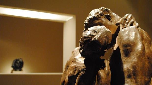 la escultura que se encuentra en el Museo de Bellas Artes