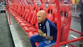 Jorge Sampaoli, DT de la selección