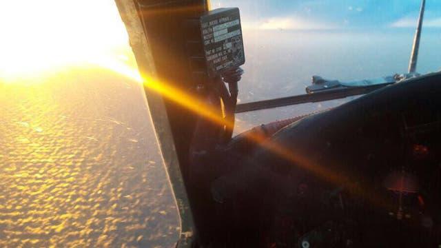 La Armada realiza rastrillajes aéreos hace días para hallar el Ara San Juan