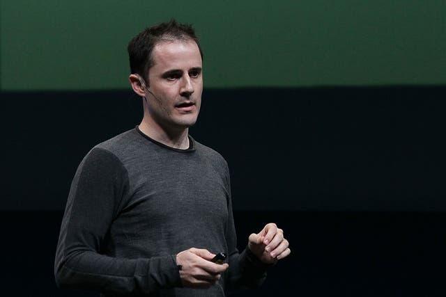 Evan Williams, uno de los cofundadores de Twitter, durante la conferencia para desarrolladores Chirp