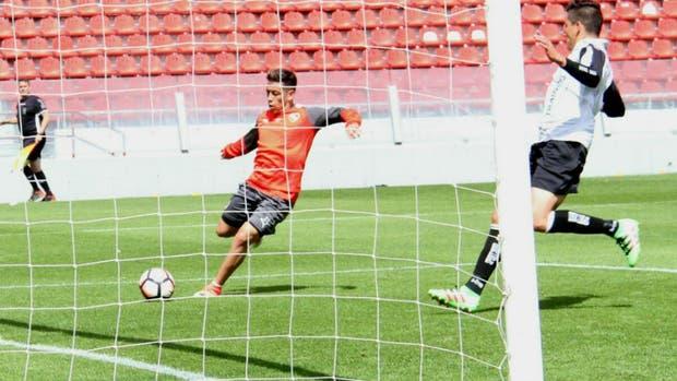 Independiente ganó con un gol de Ezequiel Barco