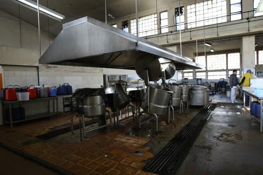 La cocina, sin uso por la falta de gas. Foto: lanacion.com / Guadalupe Aizaga