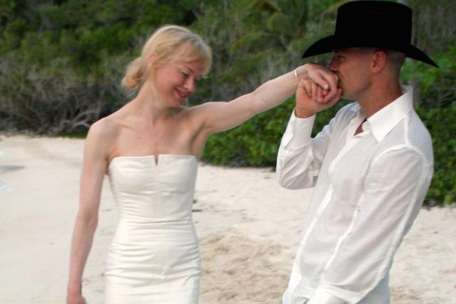 Renée Zellweger y Kenny Chesney