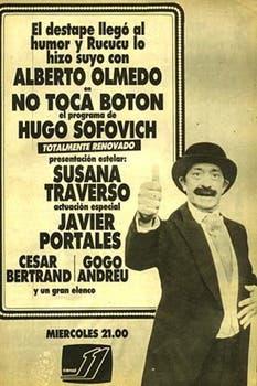 """Aviso de nueva temporada de """"No toca botón"""". Foto: Archivo La Nación"""