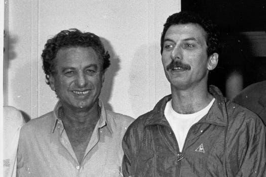 Ambos empresarios y figuras públicas. Franco Macri (iz), patriarca del Grupo Macri, y Mauricio (de), jefe de Gobierno de la Ciudad de Buenos Aires. Foto: Archivo