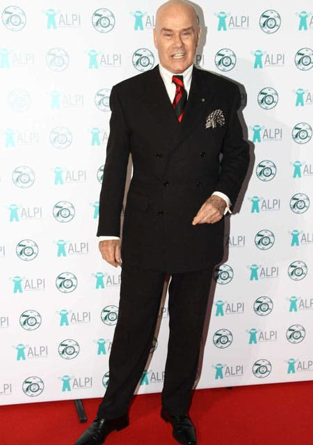 Impecable: Gino Bogani, con traje y corbata a rayas.. Foto: /Gerardo Viercovich
