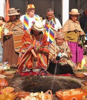 La celebración de la Pachamama en Jujuy