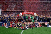 Barcelona ganó la Copa del Rey y sumó su cuarto título de la temporada de la mano de Messi