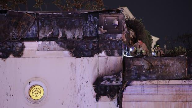 Se registra incendio en el icónico hotel Bellagio de Las Vegas