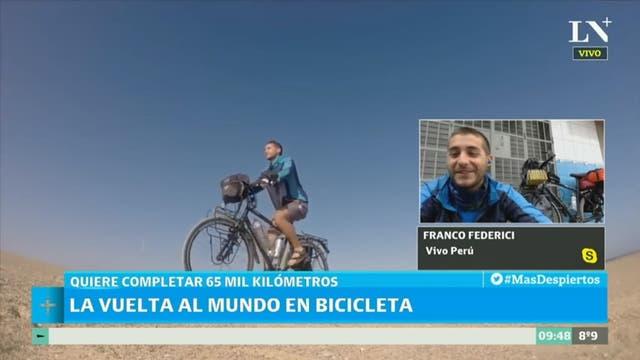 Franco Federici tiene 25 años y es oriundo de Flores