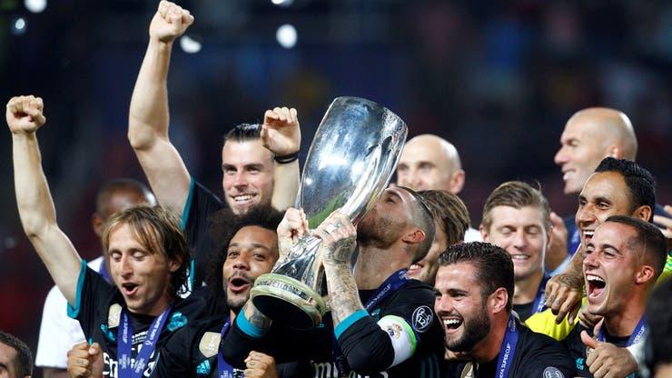 Real Madrid, campeón de la Supercopa de Europa