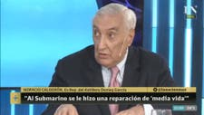 """Para el ex representante del astillero Domecq García, el vocero de la Armada """"se equivocó"""""""