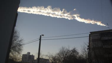 The meteor shower in Chelyabinsk in 2013 left many injuries.