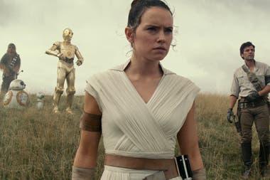 Rey (Daisy Ridley) es la gran protagonista de la tercera trilogía de Star Wars