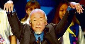 Uno de los festejados gestos del personaje más famoso del actor
