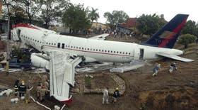 El Airbus 320 llevaba 124 pasajeros más los tripulantes