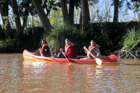 Un poco de coordinación para remar por el río