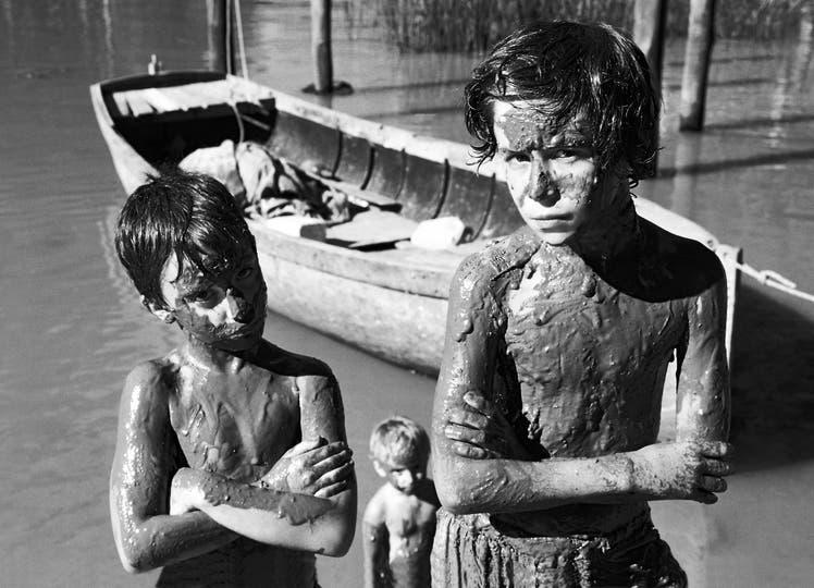 Teñidos de río, de Silvia Sergi, una de las fotografías que integran la muestra Jangada en Fráncfort