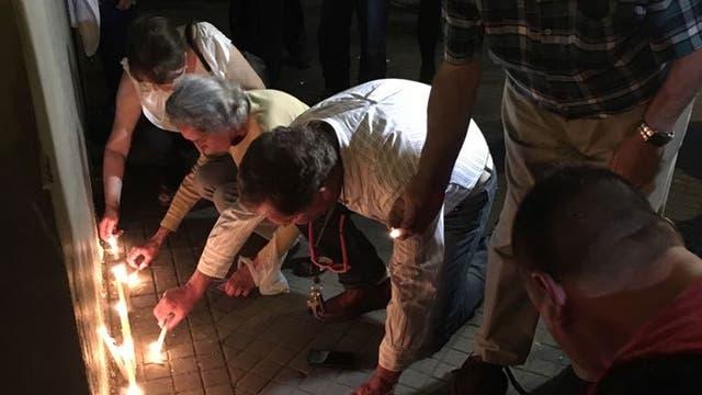 Durante la noche hubo un homenaje en el Politécnico de Rosario