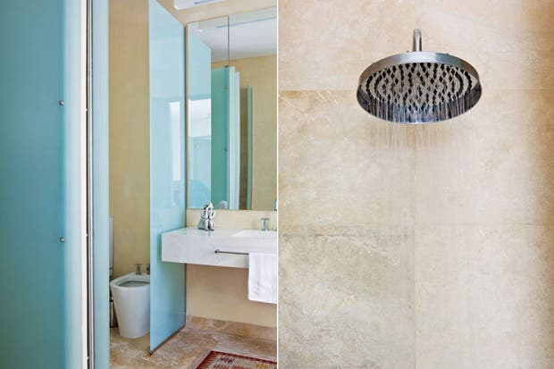 Piso Para Baño Turco:Baño + vestidor: espacios luminosos y bien aprovechados – Violeta