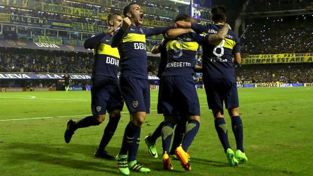 Un nuevo festejo para Boca