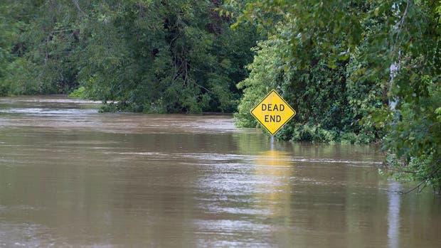 Texas, devastada por el huracán Harvey, en Estados Unidos