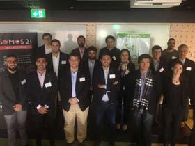 La delegación de Unaje en Australia