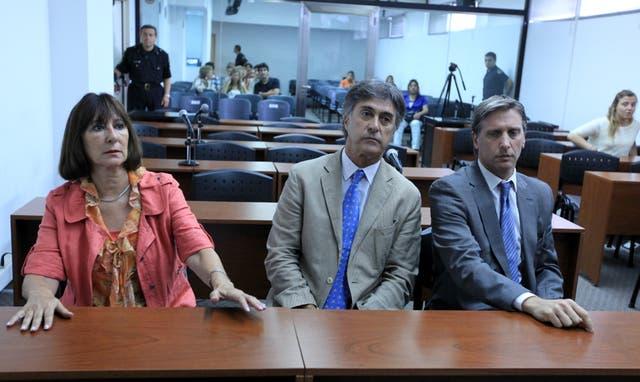 Felisa Miceli, cuando la condenaron, en 2012, a cuatro años de prisión por la bolsa con dinero